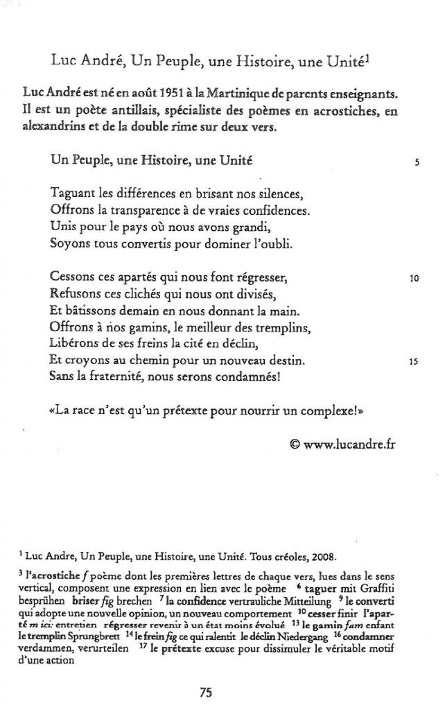 Texte Luc André livre identité & immigration