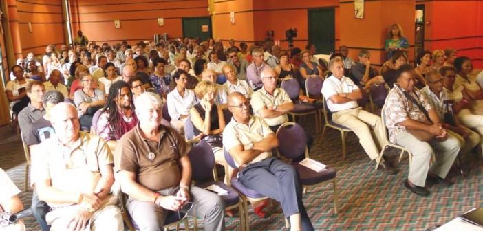 Le nombreux public