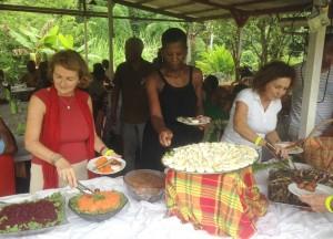 Le délicieux buffet créole de Kay Mimi