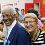 Edouard ANCET et sa compagne Michèle ARRETCHE