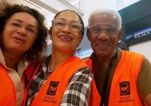 Catherine, Tania et Edouard au selfie