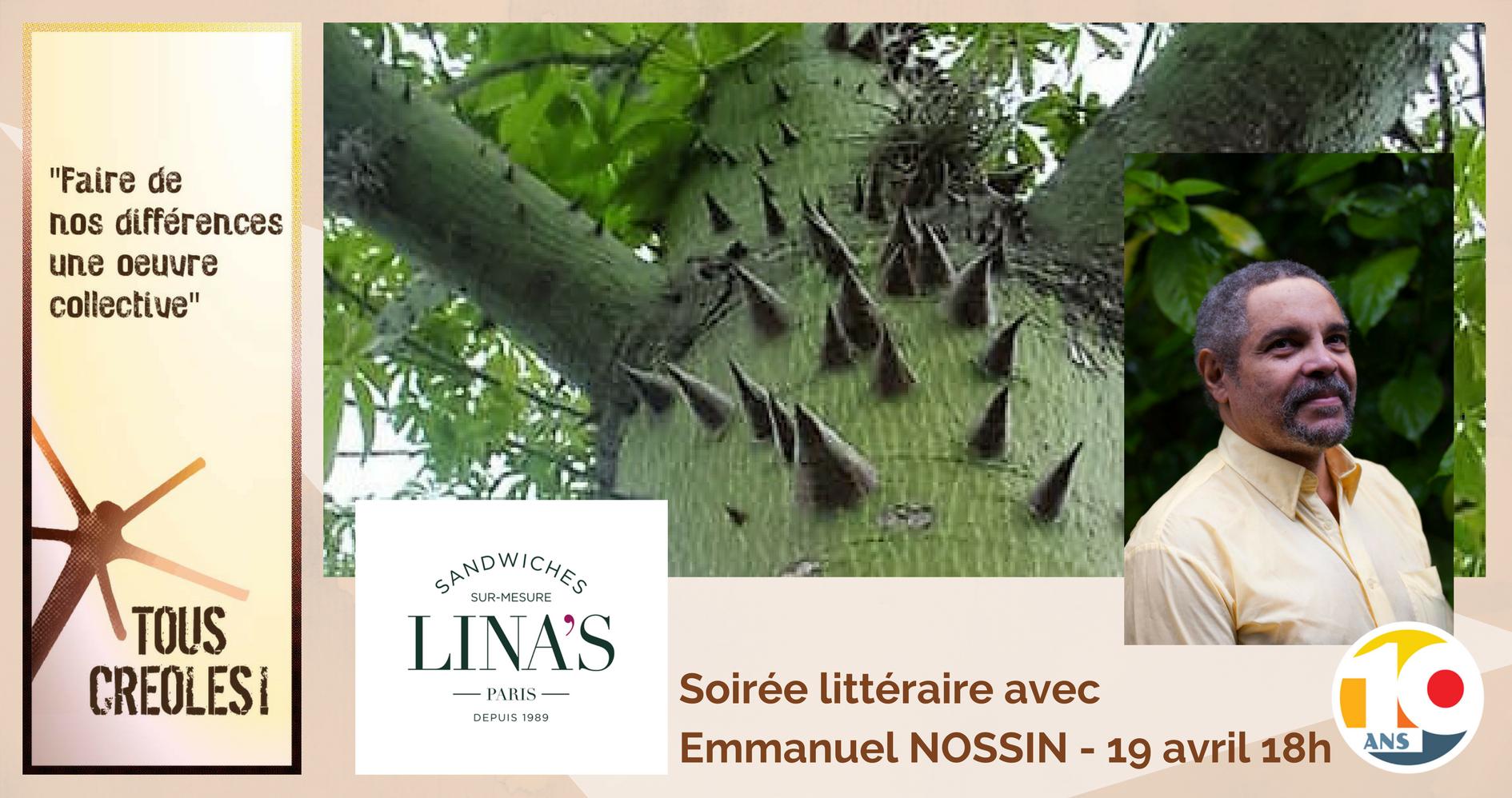 Soirée littéraire Tous Créoles Martinique Emmanuel NOSSIN - plantes médiatrices de la Martinique