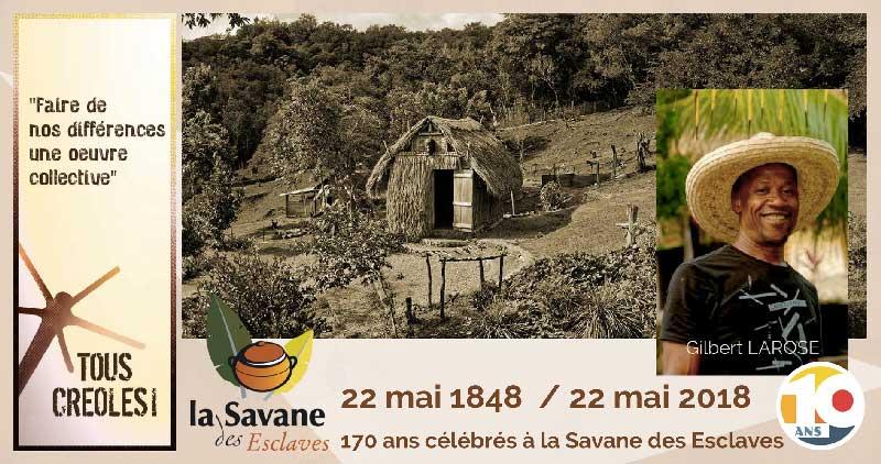 Tous créoles Savane des escalves Martinique